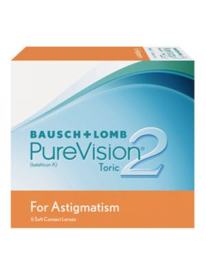 Purevision 2 HD for Astigmatism (6 lentes)