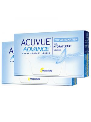 Acuvue Advance for Astigmatism (12 lentes)