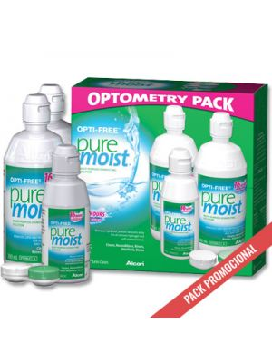 Opti-Free PureMoist Summer Pack - 2 x 300ml + 1 x 90ml
